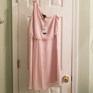 Adrianna Papell Darling Pale Pink Formal Dress